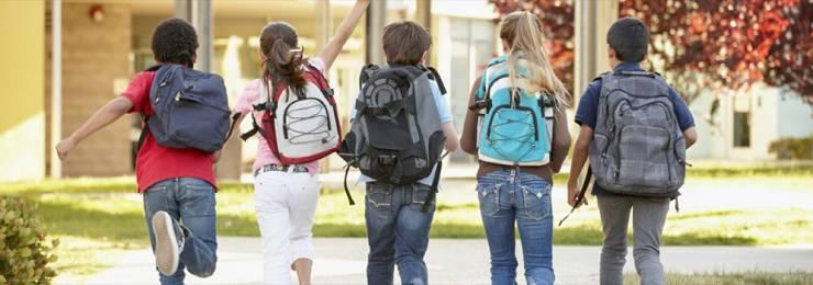 Prevozi otrok v šolo in vrtec